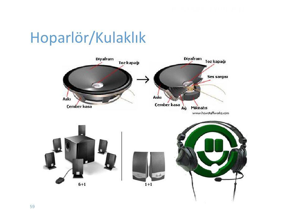 Hoparlör/Kulaklık DONANIM - EYLÜL 2012 59