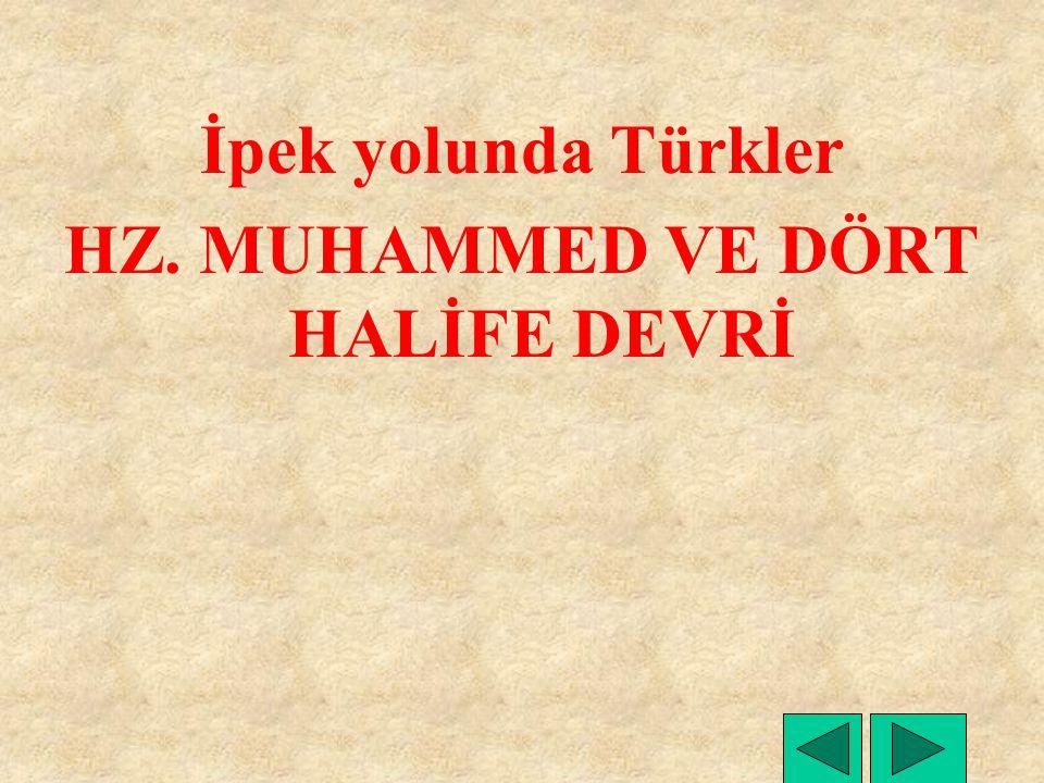 FETİHLER Kuzeyde 636 Erzurum alındı.Hazar Türkleriyle savaş başladı.
