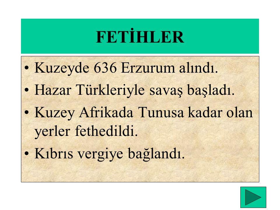 HZ. OSMAN DÖNEMİ (644-656) İslam dünyasında ilk karışıklıklar çıktı. Hz. Osmanın şehit edilmesi iki önemli olayı doğurdu. 1. Yeniden islam dünyasında
