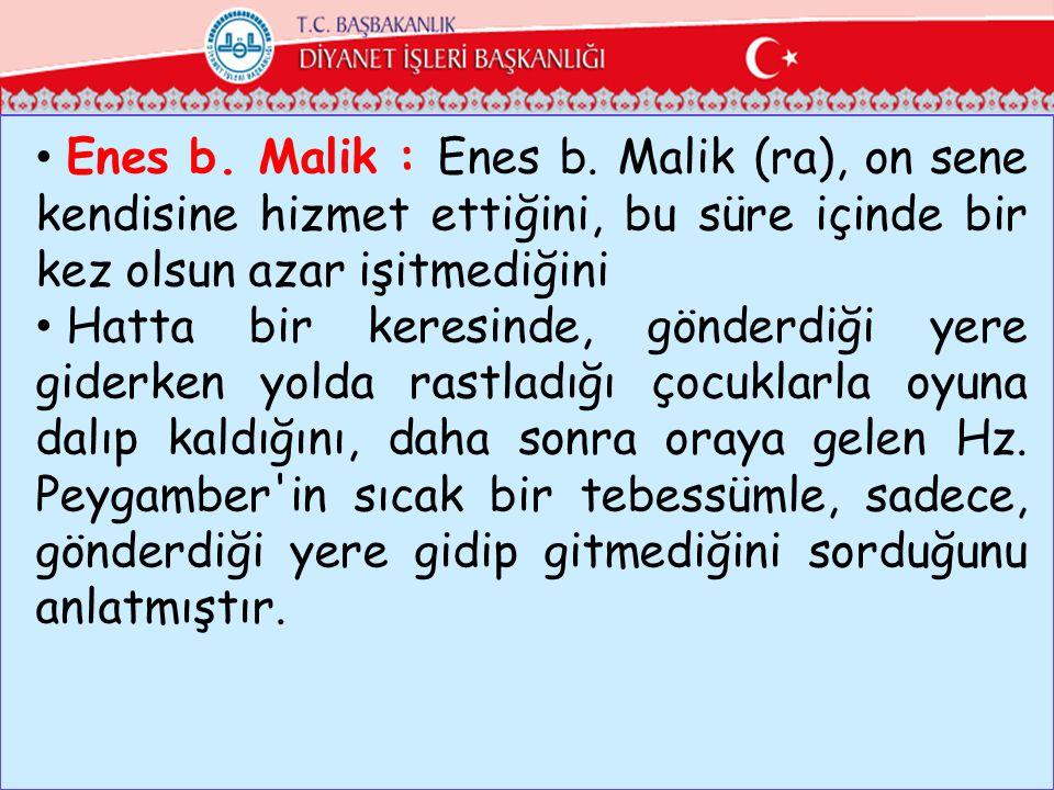 Enes b.Malik : Enes b.
