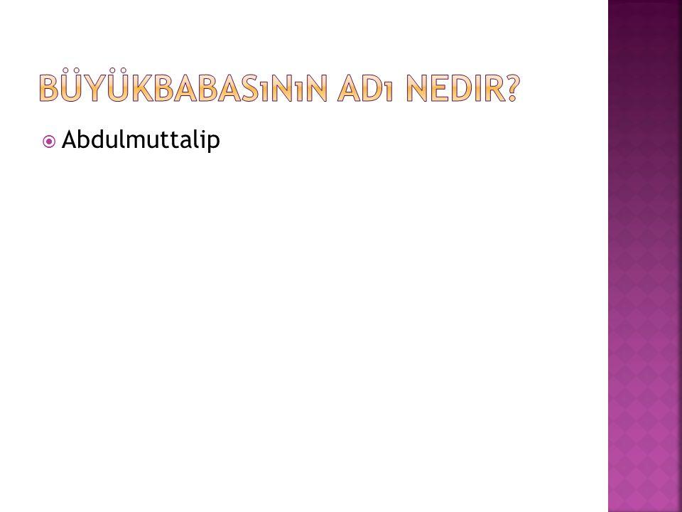  Abdulmuttalip