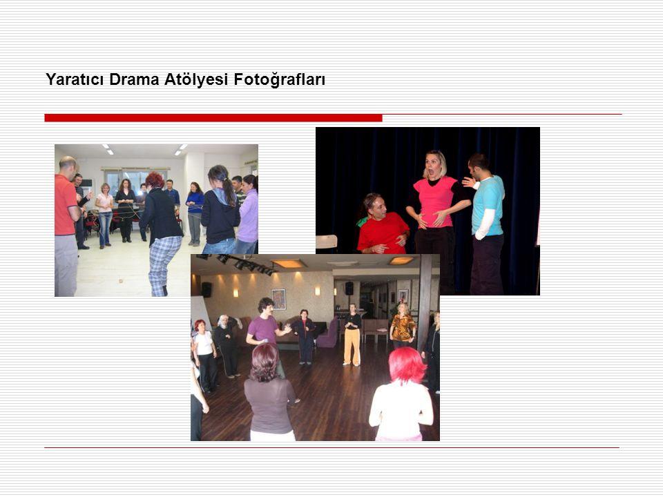 Yaratıcı Drama Atölyesi Fotoğrafları