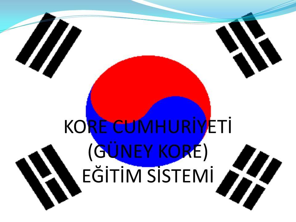Kore Cumhuriyeti Eğitim Sistemi DEMİR GÜNEŞ MUHARREM BAGAV YAZ-2012 YEDİTEPE ÜNİVERSİTESİ