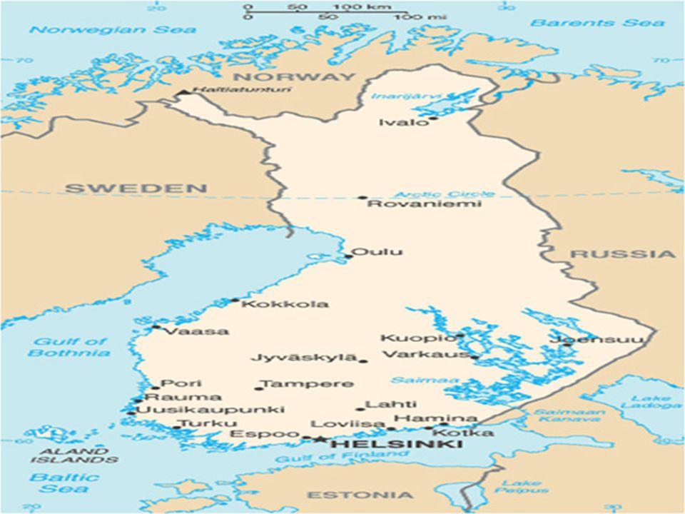 Kısa Tarihçesi Finlandiya uzun yıllar Rus ve İsveç egemenliği altında özerk bir bölge olarak kaldıktan sonra Rusya'da gerçekleşen Devrimin ardından 1917 yılında bağımsızlığını ilân etmiş ve bu bağımsızlık ilânı, Finlandiya'nın Rusya egemenliğinden bütünüyle kopuşu anlamına gelmiştir.