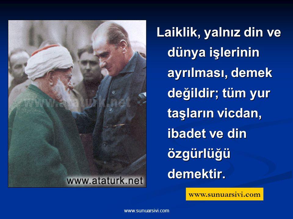 www.sunuarsivi.com Süngülerle, silahlarla ve kanla kazandığımız askeri zaferlerden sonra, kültür, bilim, fen ve ekonomi alanlarında da zaferler kazanm