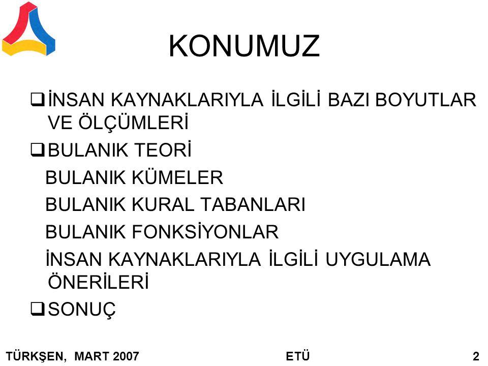 Min Q = TÜRKŞEN, MART 2007 ETÜ 63