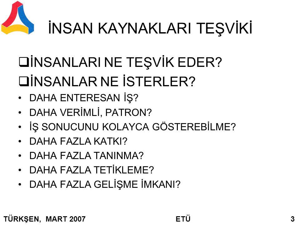 BULANIK FONKSİYONLARIN YAPISI or or etc, TÜRKŞEN, MART 2007 ETÜ 64