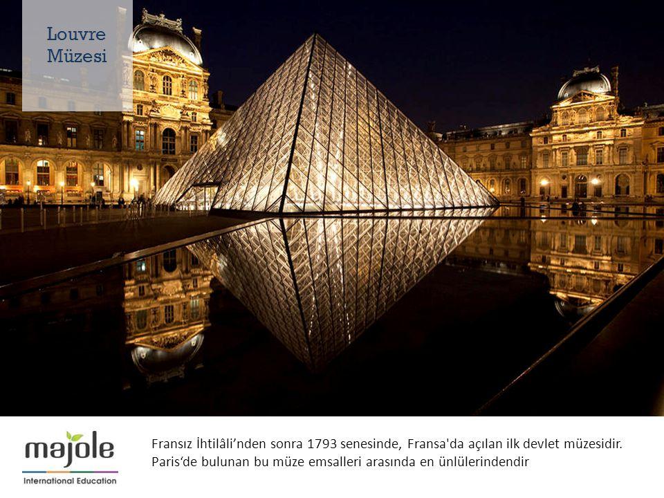 Fransız İhtilâli'nden sonra 1793 senesinde, Fransa da açılan ilk devlet müzesidir.