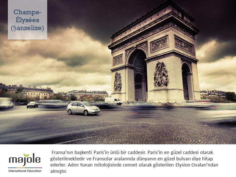 Fransa'nın başkenti Paris'in ünlü bir caddesir.