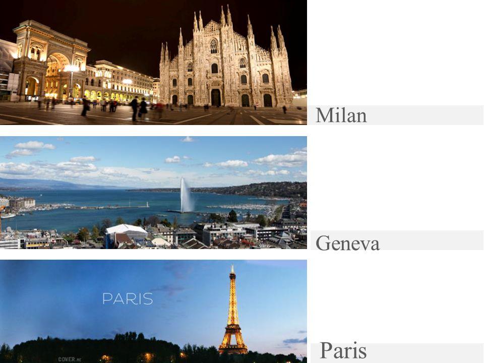 Milan Geneva Paris