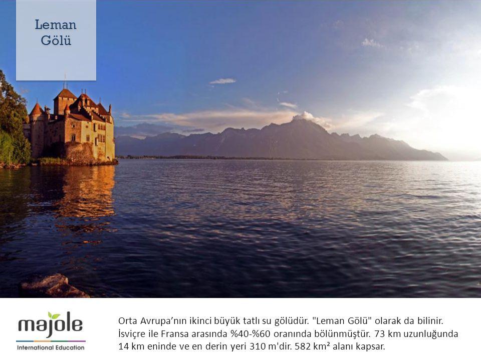 Orta Avrupa'nın ikinci büyük tatlı su gölüdür. Leman Gölü olarak da bilinir.