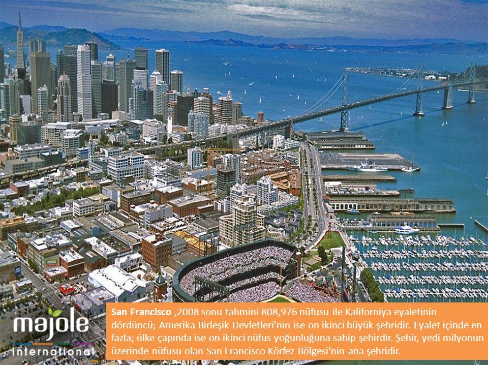 San Francisco,2008 sonu tahmini 808,976 nüfusu ile Kaliforniya eyaletinin dördüncü; Amerika Birleşik Devletleri'nin ise on ikinci büyük şehridir. Eyal