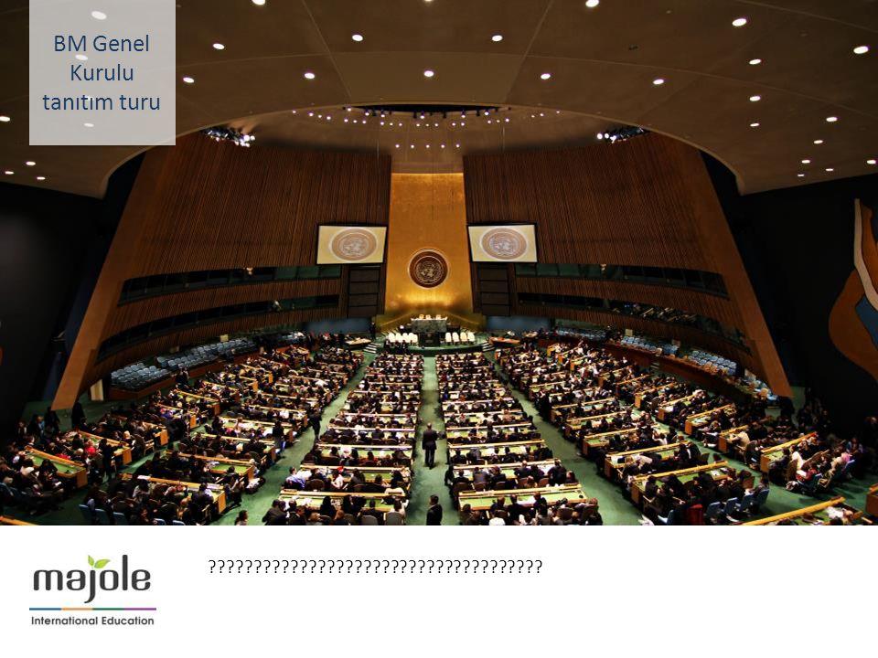 BİRLEŞMİŞ MİLLETLER GENEL MERKEZİNDE EĞİTİM SEMİNERİ 2- 10 Aralık 2012 ????????????????????????????????????? BM Genel Kurulu tanıtım turu