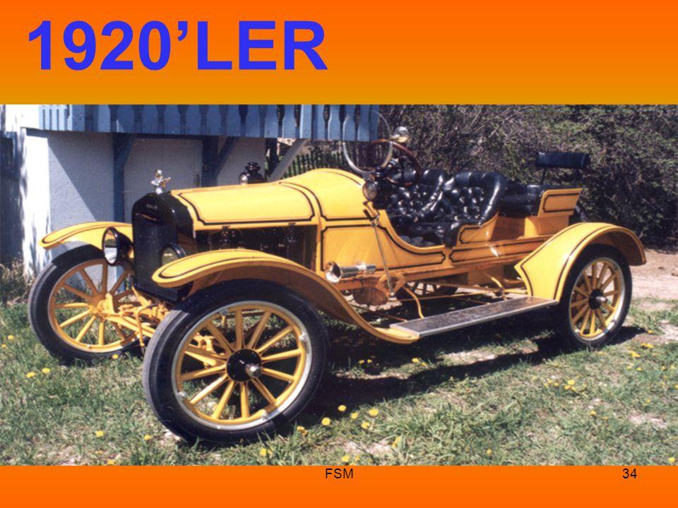 FSM33 1900'lü yılların başı