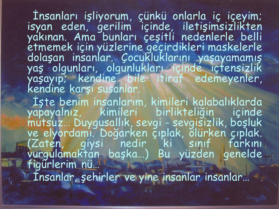 Sanatsal Etkinliklerim; 1989 Antalya Müzesi Grup Sergisi, 1990 İzmir İnönü Lisesi Resim Öğretmenleri Karma Sergisi, 1990 İzmir B.