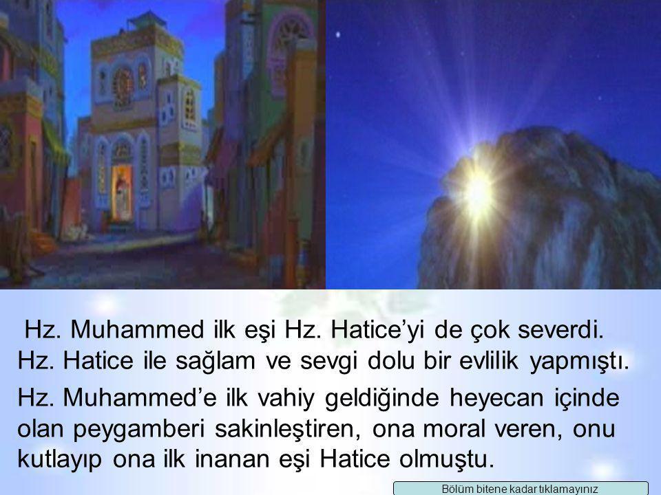 Hz. Muhammed torunları Hasan ve Hüseyin'i çok severdi ve onlarla sık sık oyunlar oynardı. Onları omzuna alır, taşırdı. Bir gün Hasan'ı omzunda taşırke