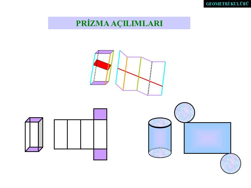 Herhangi bir eğik prizmanın hacmi ; Dik kesit alanı ile yan ayrıt uzunluğu çarpımına eşittir.