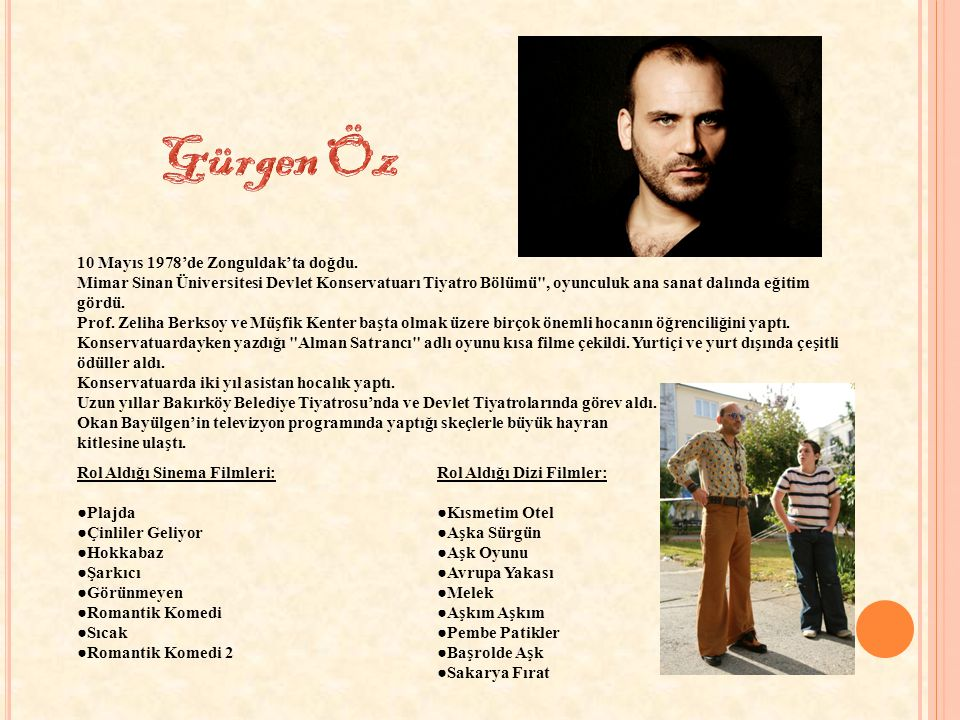 10 Ekim1985'te İstanbul'da doğdu.TÜRVAK ( Türker İnanoğlu Vakfı ) ta oyunculuk eğitimi aldı.