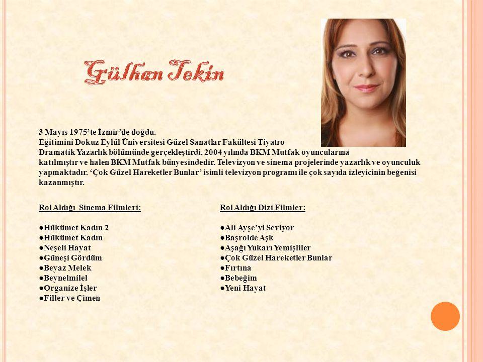 3 Mayıs 1975'te İzmir'de doğdu.