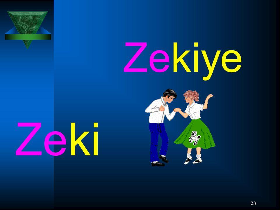 23 Zeki Zekiye