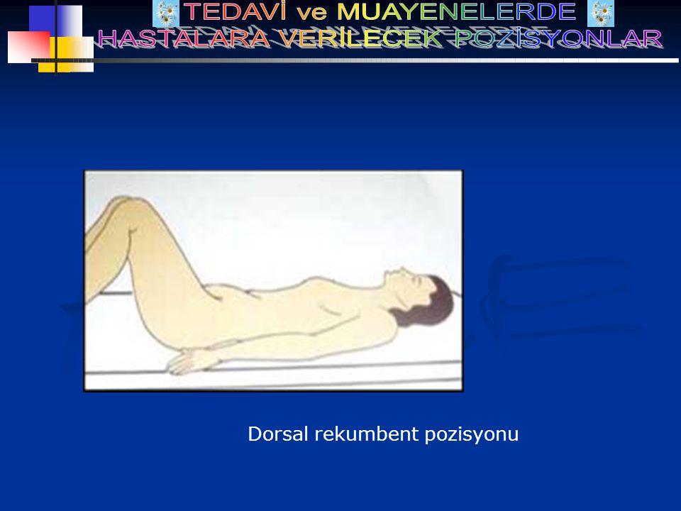 Dorsal rekumbent pozisyonu
