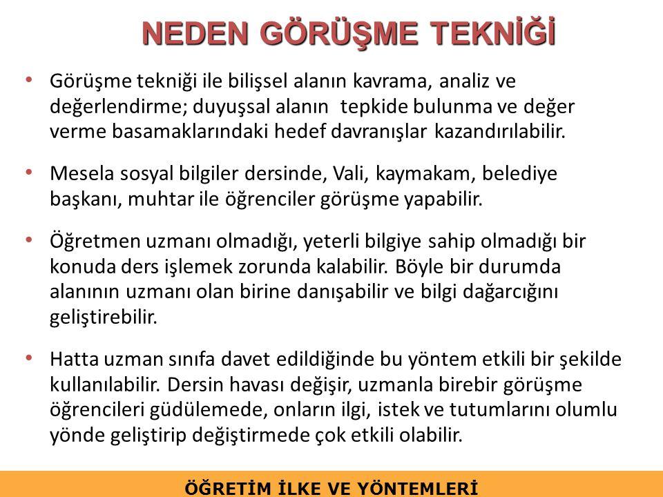 Mülakat Metodunun Türleri Balcı (1997) mülakat türlerini; 1.