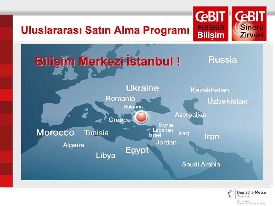 Uluslararası Satın Alma Programı Bilişim Merkezi İstanbul !
