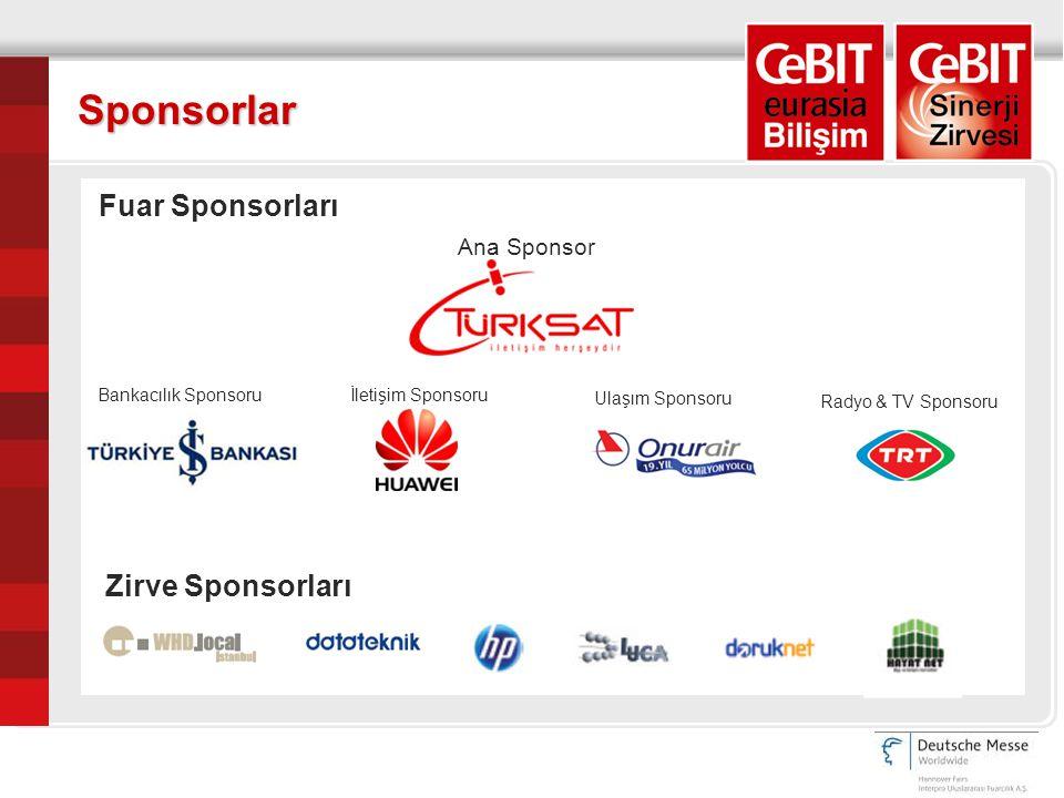 Sponsorlar Ana Sponsor Bankacılık Sponsoruİletişim Sponsoru Ulaşım Sponsoru Radyo & TV Sponsoru Fuar Sponsorları Zirve Sponsorları