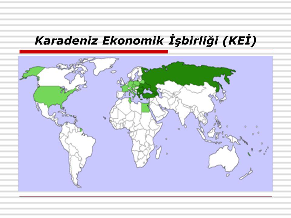 Karadeniz Ekonomik İşbirliği (KEİ)