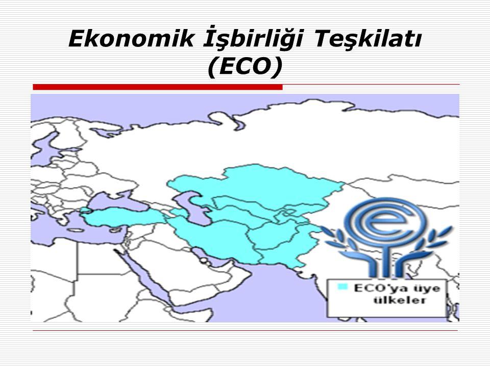 Ekonomik İşbirliği Teşkilatı (ECO)