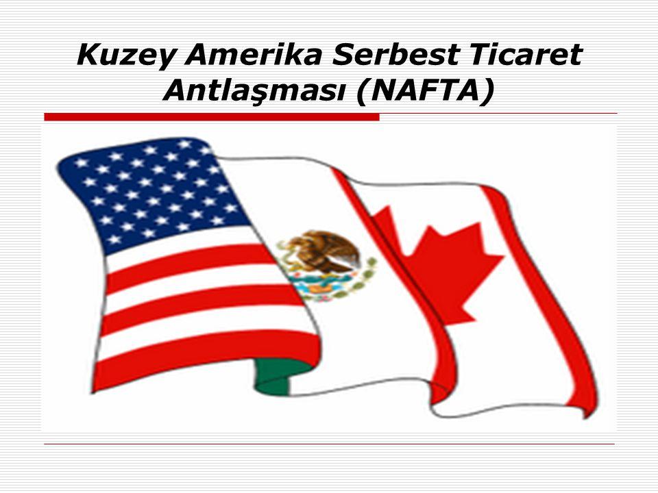 Kuzey Amerika Serbest Ticaret Antlaşması (NAFTA)