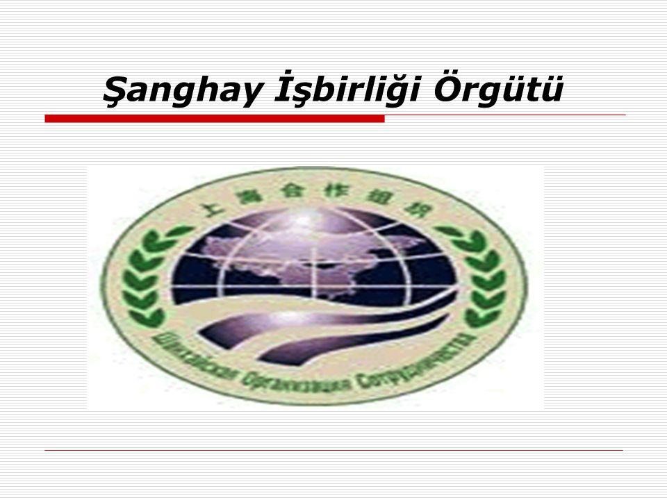 Şanghay İşbirliği Örgütü