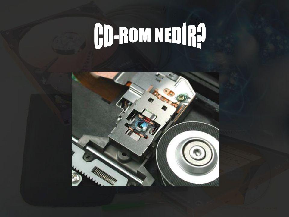 CD-ROM'da yakma işleminin gerçekleştirilmesi