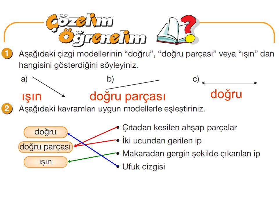 4 cm 7 cm 2 cm Çözelim Öğrenelim (MDK 56. s.) 4. Soru: