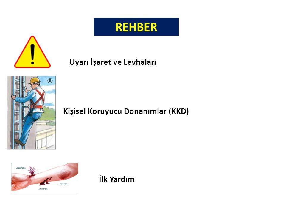 Kişisel Koruyucu Donanımlar (KKD) Uyarı İşaret ve Levhaları İlk Yardım REHBER