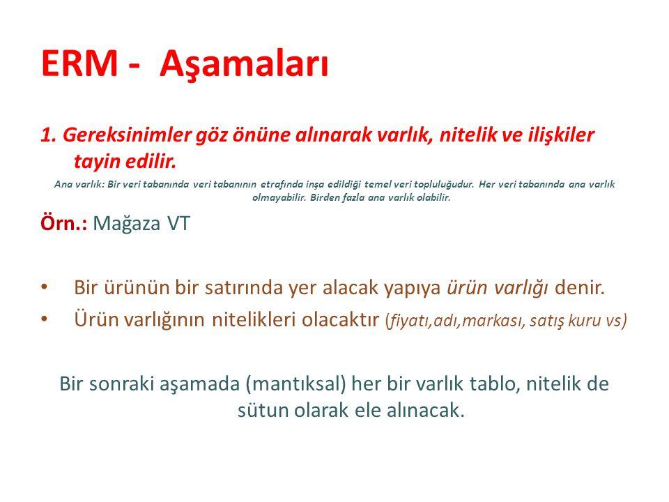 ERM - Aşamaları 2.