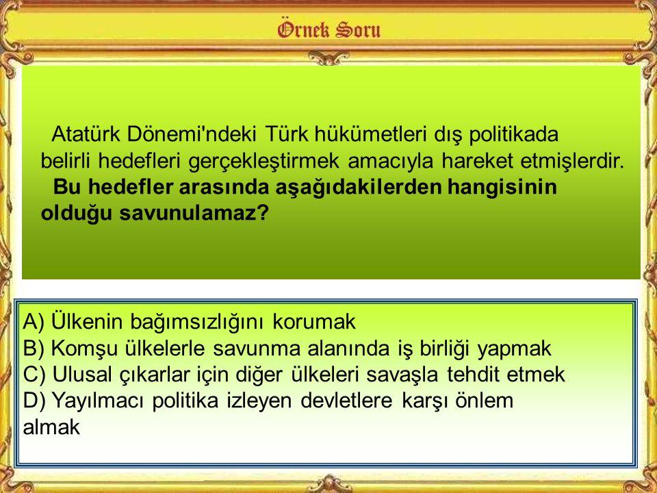 – 1923 Lozan Konferansı'nda Sovyet Rusya, Türkiye'nin Boğazlar ile ilgili görüşünü savunurken, İngiltere bu görüşe karşı çıkmıştır. – 1936'da Türkiye'