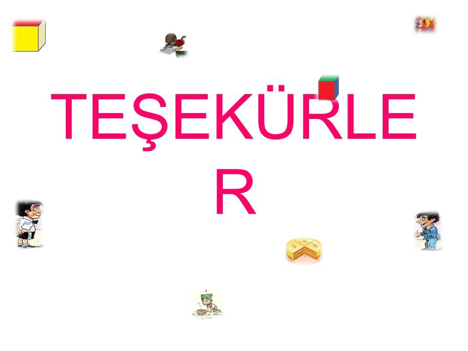 TEŞEKÜRLE R