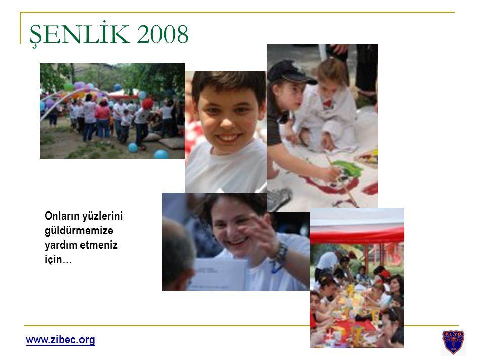 ŞENLİK 2008 Onların yüzlerini güldürmemize yardım etmeniz için… www.zibec.org