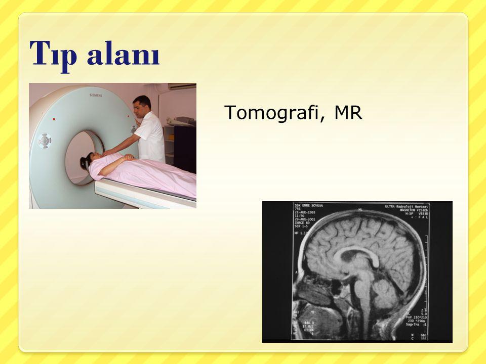 Tıp alanı Tomografi, MR