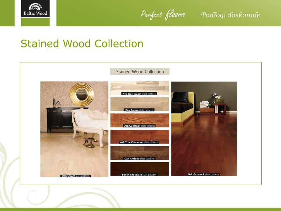 Stained Wood Collection Perfect floors