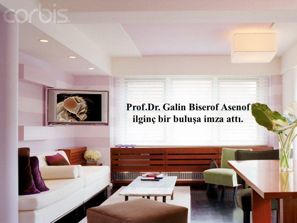 Prof.Dr. Galin Biserof Asenof ilginç bir buluşa imza attı.