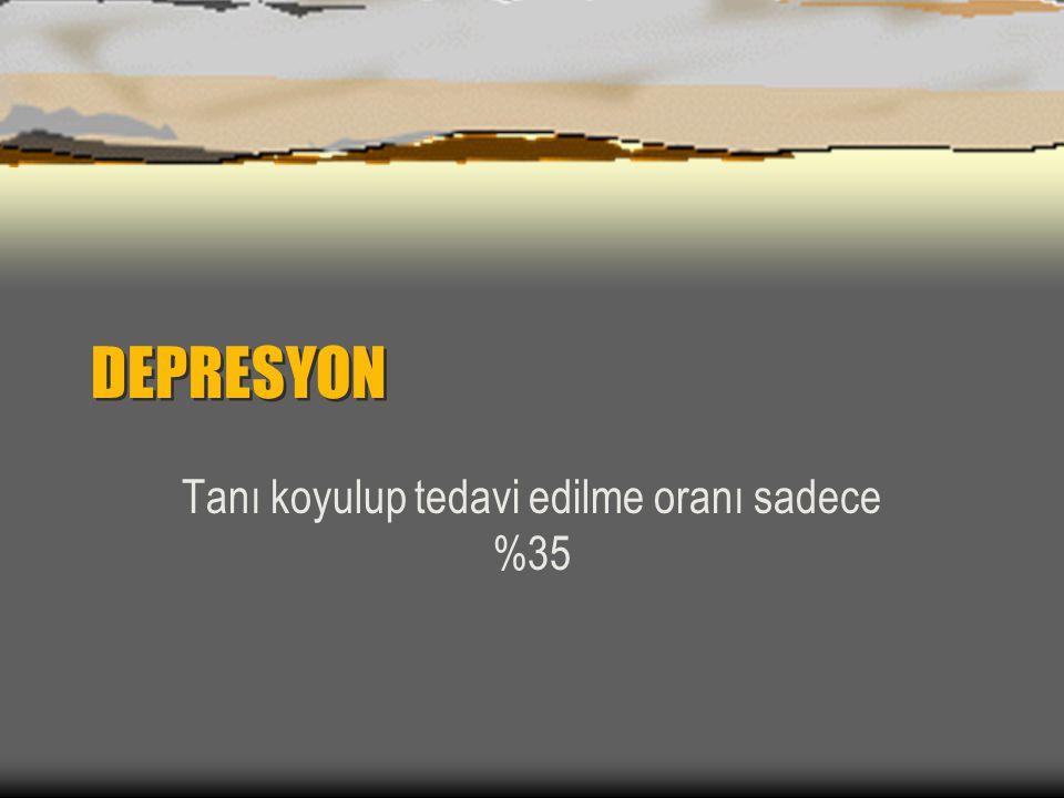 Depresyon ve Anksiyete Prevalansı Depresyon ve Anksiyete Prevalansı
