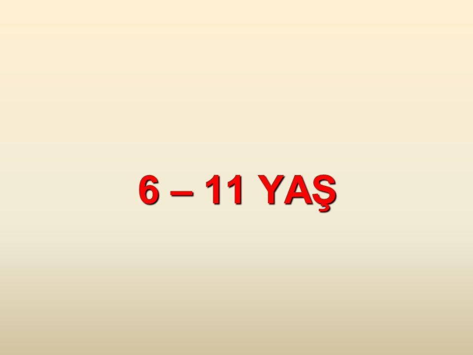 6 – 11 YAŞ