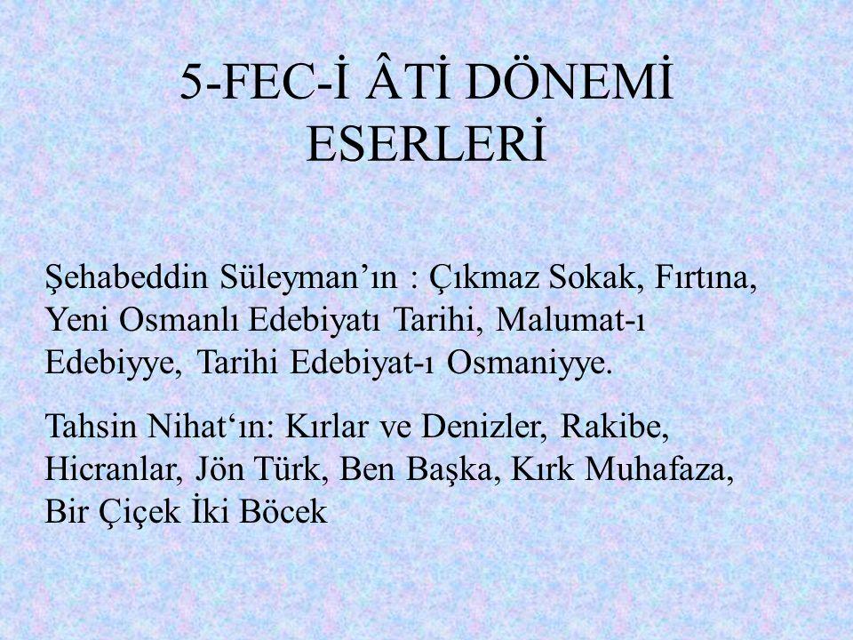 Topluluğa daha sonra Süleyman Fehmi, İsmail Suphi, Nevin, İbrahim Alaeddin, Mehmet Ali Tevfik, Hasan Bedrettin gibi şahsiyetlerin katılmasıyla toplulu