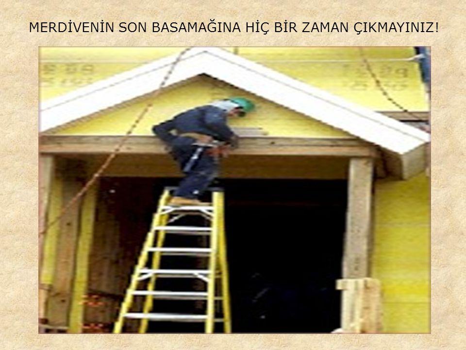 AĞIRLIKLARI UYGUN ŞEKİLDE KALDIRINIZ!