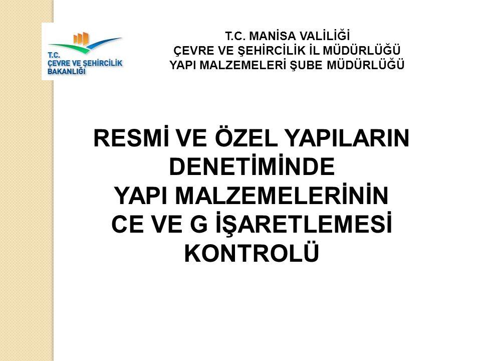 13.05.2010 tarih ve 631 sayılı Şantiye'de Yapı Malzemelerinin Denetimi konulu Genelge (2010/8) Tüm Valiliklere ve ilgili diğer birimlere gönderilmiştir.