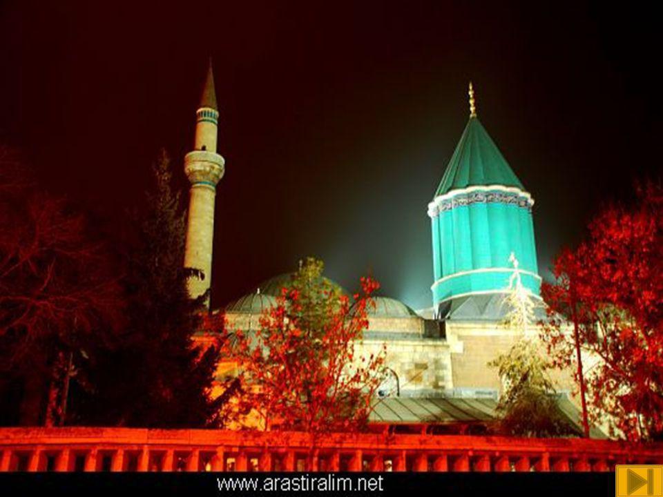  Mevlana Müzesi, Konya da bulunan, eskiden Mevlana nın dergâhı olan yapı kompleksinde, 1926 yılından beri faaliyet gösteren müzedir.