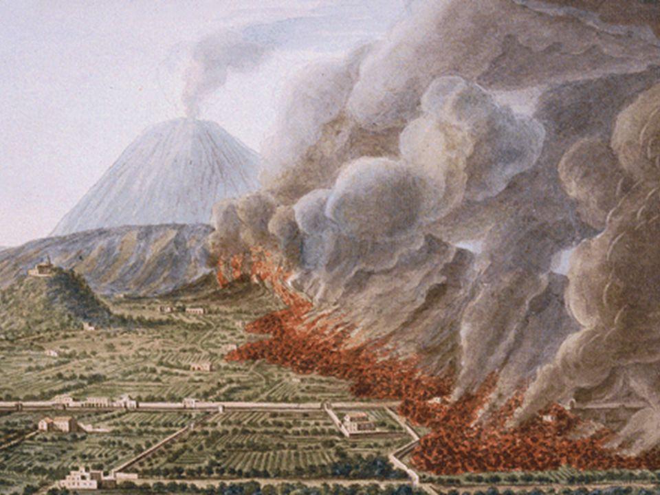 İtalya Vezüv Yanardağı'nın batı yamacında Pompei kenti yer alıyor.