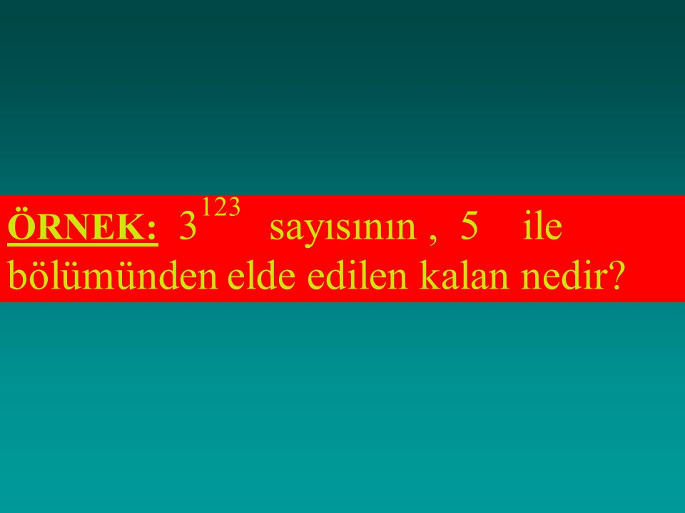 Bu tablodan yaralanılarak, a) Z/4 kümesi, + işlemine göre kapalıdır. b) Z/4 kümesinde,+ işleminin değişme özelliği vardır. c) Z/4 kümesinde,+ işlemini